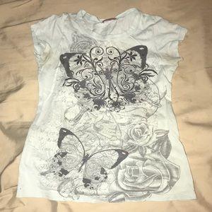 Graphic design girls shirt